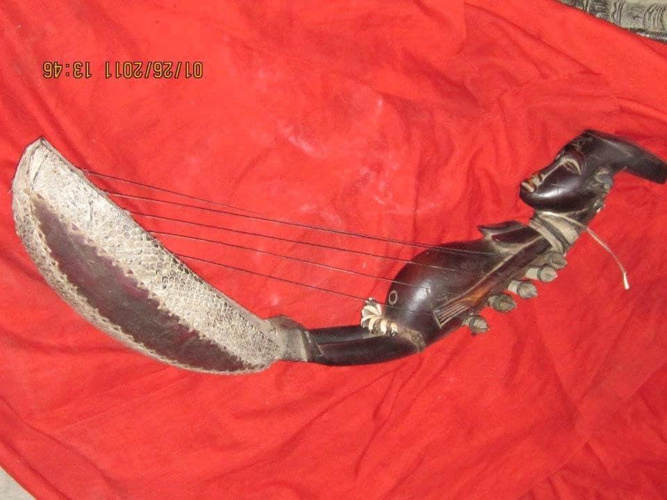Quelques objets d'art des artisans d'obarcema