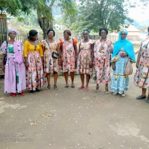 Fête offerte aux femmes à l'hôtel de ville par le Maire d'ESEKA